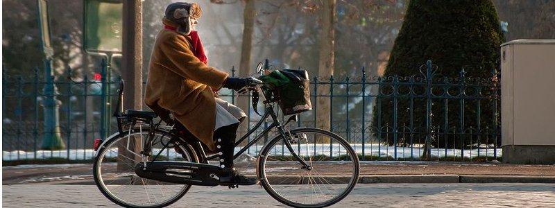 Cycliste ville