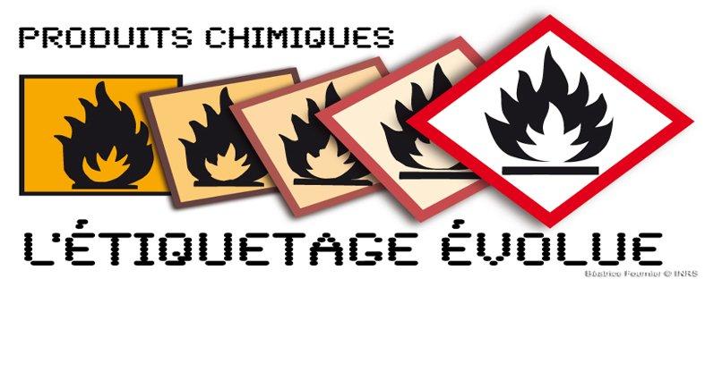 Etiquetage produits chimiques