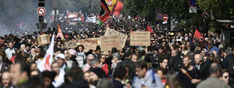 Quatrième mobilisation contre la réforme du travail