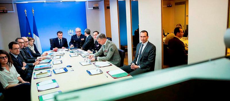 Crise des sous-marins : conseil de défense à l'Elysée @ Palais de l'Elysée | Paris | Île-de-France | France