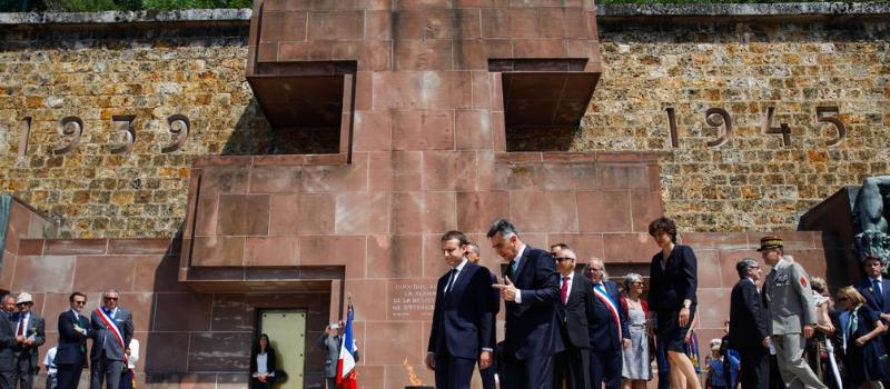 Emmanuel Macron commémore l'appel du 18 Juin au Mont Valérien @ Mont Valérien | Suresnes | Île-de-France | France