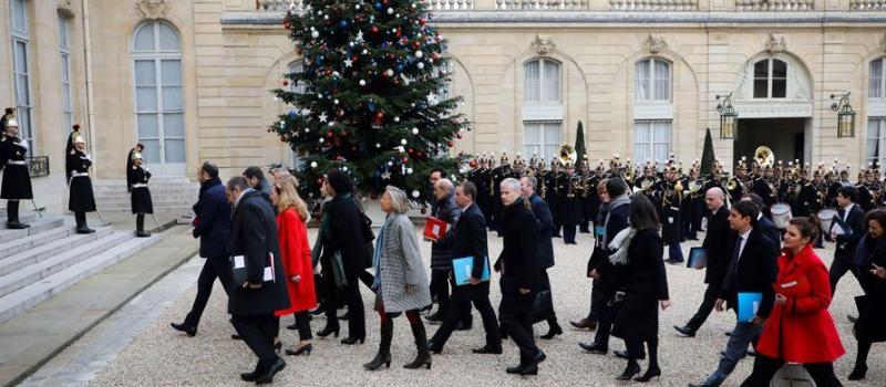 Conseil des ministres de rentrée @ Palais de l'Elysée | Paris | Île-de-France | France