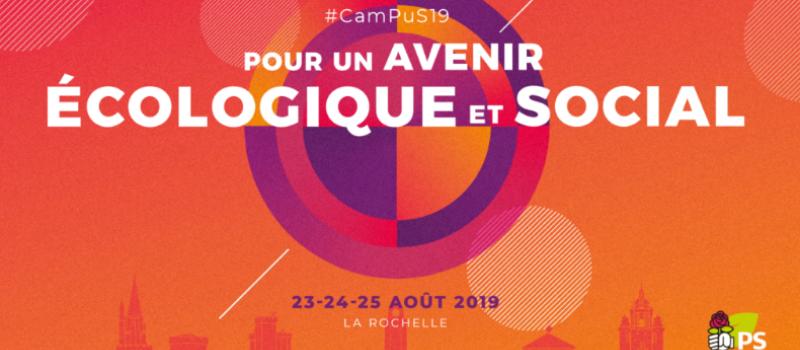 Université d'été du PS à la Rochelle @ Espace Encan | La Rochelle | Nouvelle-Aquitaine | France