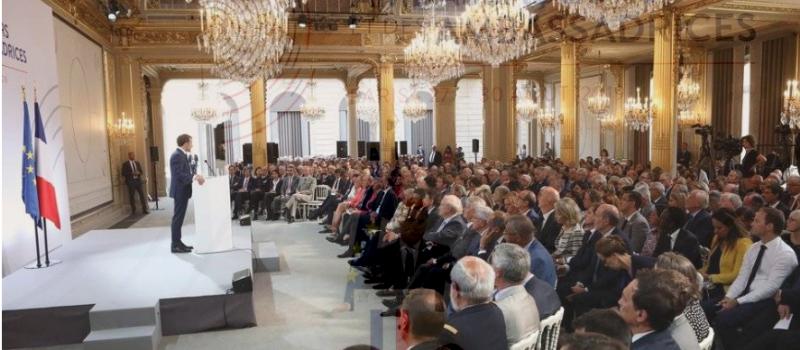 Discours d'Emmanuel Macron en ouverture de la conférence des ambassadeurs @ Palais de l'Elysée | Paris | Île-de-France | France