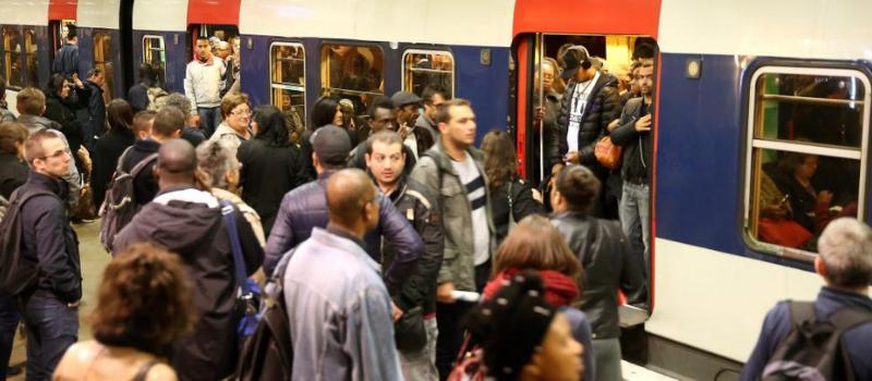 Mouvement de grève à la RATP