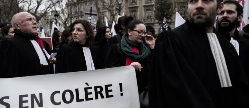 Réforme des retraites : les professions libérales dans la rue pour défendre leur régime @ France | France