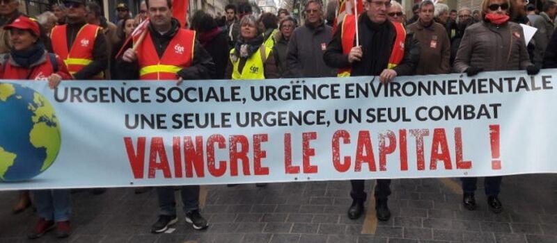 CGT, FSU, Solidaires : journée d'action autour de l'urgence climatique @ France