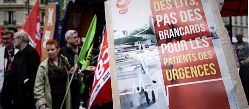 Hôpital : mobilisation à l'appel des trois principaux syndicats de la fonction publique @ France | France