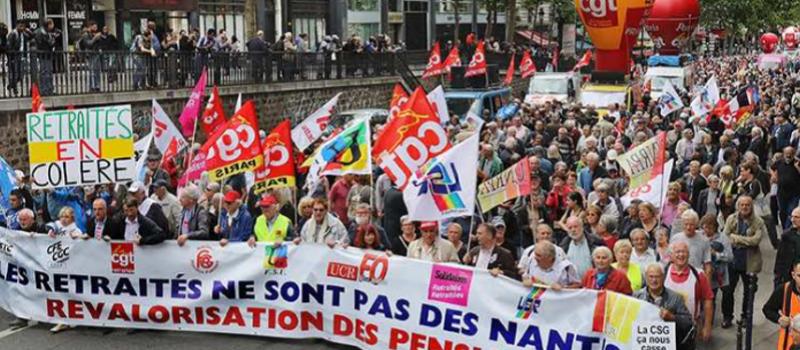 Retraités : nouvelle mobilisation à l'appel de l'intersyndicale @ Montparnasse | Paris | Île-de-France | France