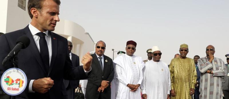 Emmanuel Macron à Pau pour le sommet du G5 Sahel @ Pau | Pau | Nouvelle-Aquitaine | France