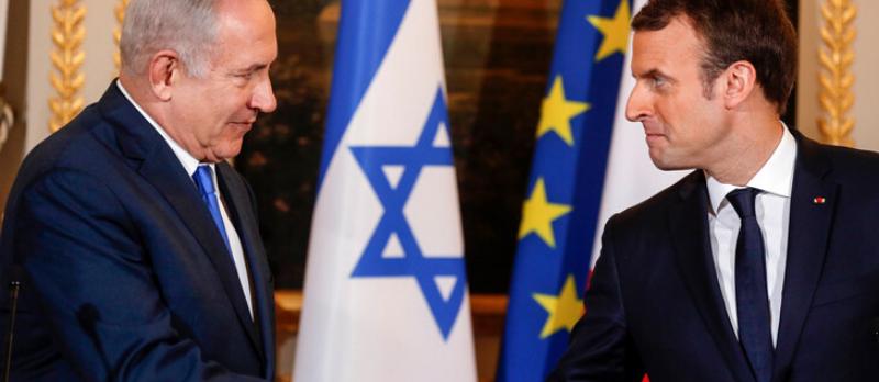 Emmanuel Macron en Israel et dans les territoires palestiniens @ Jérusalem | Israël