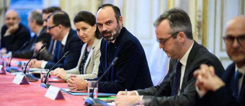 Retraites : le projet de loi présenté en Conseil des ministres @ Palais de l'Elysée | Paris | Île-de-France | France