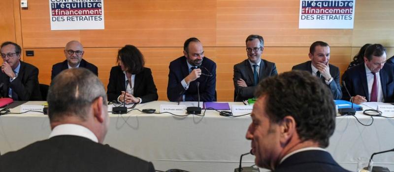 Retraites : première réunion des deux groupes de travail de la conférence de financement @ Ministère des solidarités | Paris | Île-de-France | France