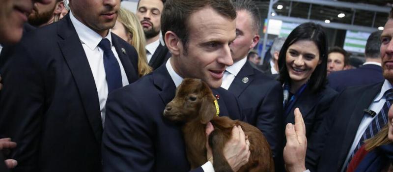 Inauguration par Emmanuel Macron du salon de l'agriculture @ Paris Parc des Expositions - Porte de Versailles | Paris | Île-de-France | France