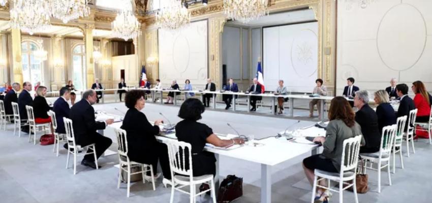 Conseil de défense sanitaire @ Elysée   Paris   Île-de-France   France
