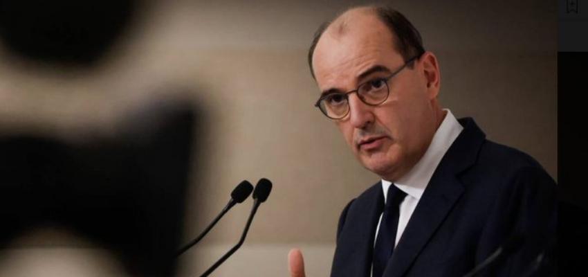 Confinement : conférence de presse de Jean Castex @ Hôtel de Matignon | Paris | Île-de-France | France
