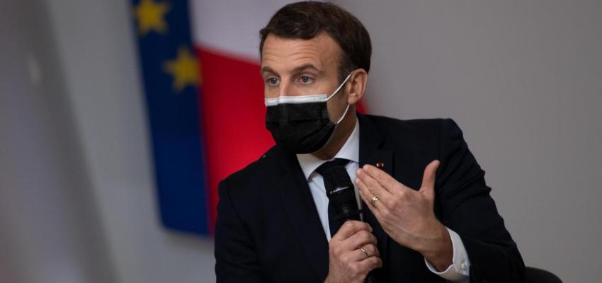 Macron dans l'Eure auprès d'agriculteurs engagés dans la transition écologique @ Tilly | Normandie | France