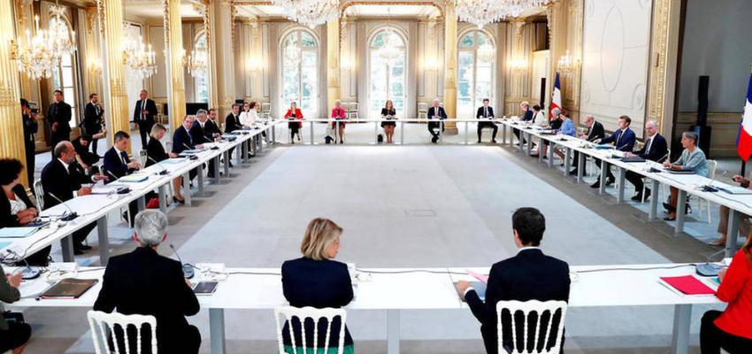 Séminaire gouvernemental de rentrée @ Palais de l'Elysée | Paris | Île-de-France | France