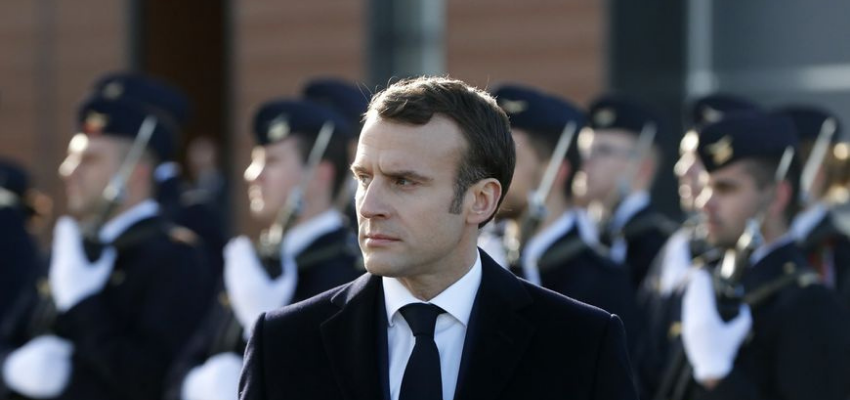 Emmanuel Macron à Brest pour ses voeux aux armées @ Brest | Brest | Bretagne | France