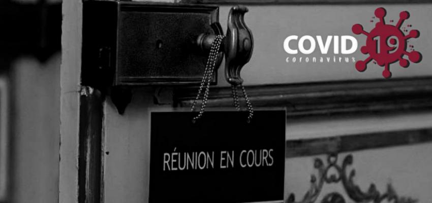 Réunion de pilotage de la sortie de crise à l'Elysée @ Palais de l'Elysée | Paris | Île-de-France | France