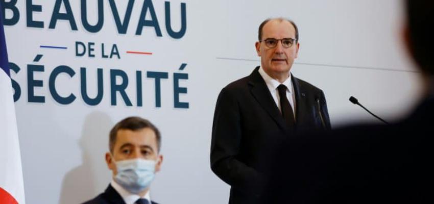 Projet de loi anti-terrorisme : Castex et Darmanin à l'issue du Conseil des ministres @ Palais de l'Elysée | Paris | Île-de-France | France