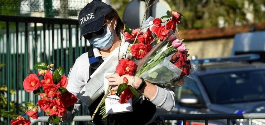 Attaque de Rambouillet : Macron aux obsèques de la victime @ France | France