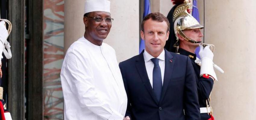 Emmanuel Macron au Tchad pour les obsèques de Déby @ N'Djamena   N'Djamena   N'Djamena   Tchad