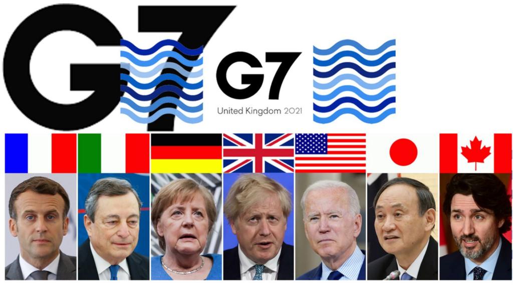 47ème sommet du G7 @ château de Tregenna,   Carbis Bay   Angleterre   Royaume-Uni