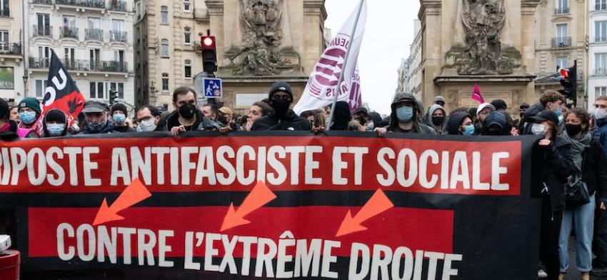 """Journée nationale de manifestation """"pour les libertés et contre l'extrême droite"""" @ France   France"""