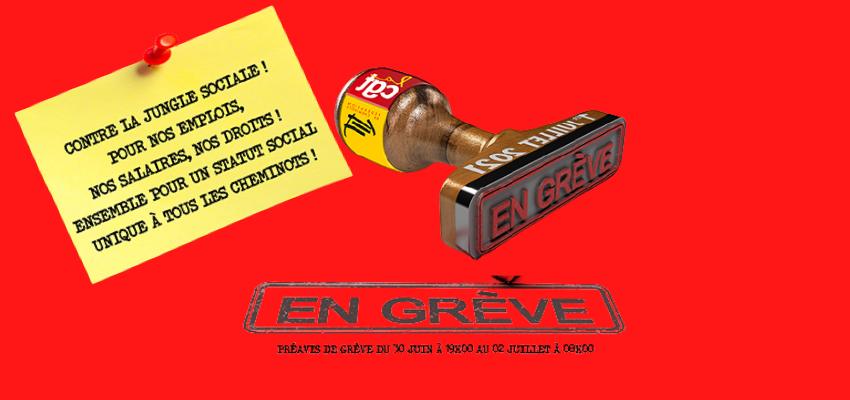 Grèves en série : SNCF, Ouigo, Aéroports de Paris @ France   France