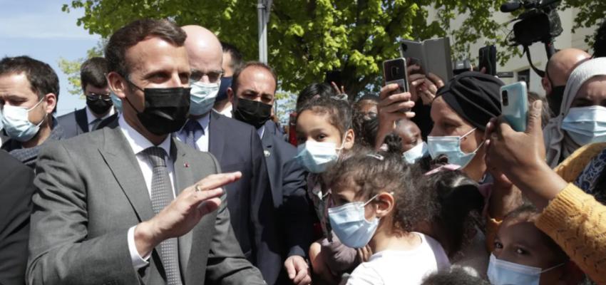 Emmanuel Macron lance son tour de France