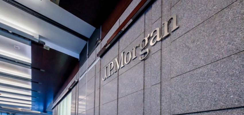 Emmanuel Macron inaugure les nouveaux locaux de la banque JP Morgan @ Siège commercial de la banque JP Morgan | Paris | Île-de-France | France