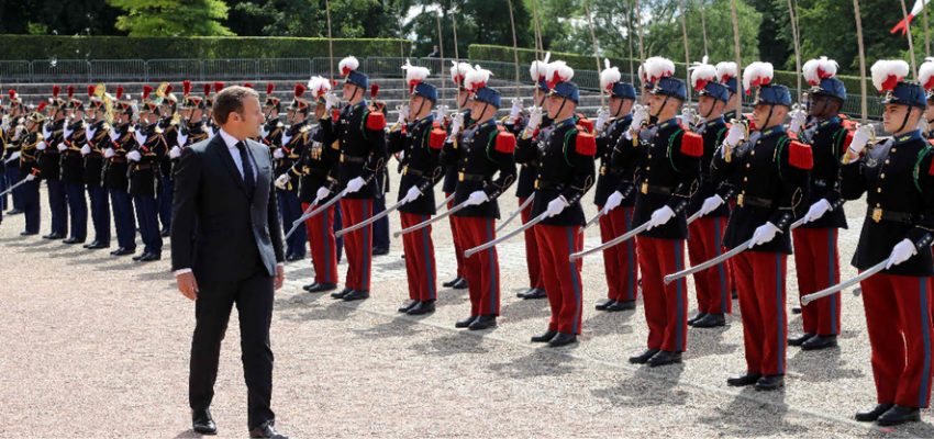Macron commémore le 81ème anniversaire de l'appel du 18 juin 1940 @ Mont Valérien | Suresnes | Île-de-France | France