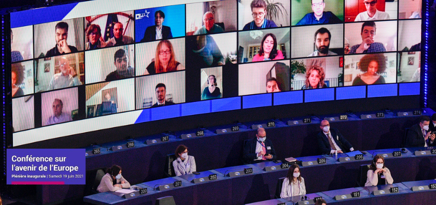 Conférence sur l'avenir de l'Europe : séance plénière inaugurale @ Parlement européen | Strasbourg | Grand Est | France