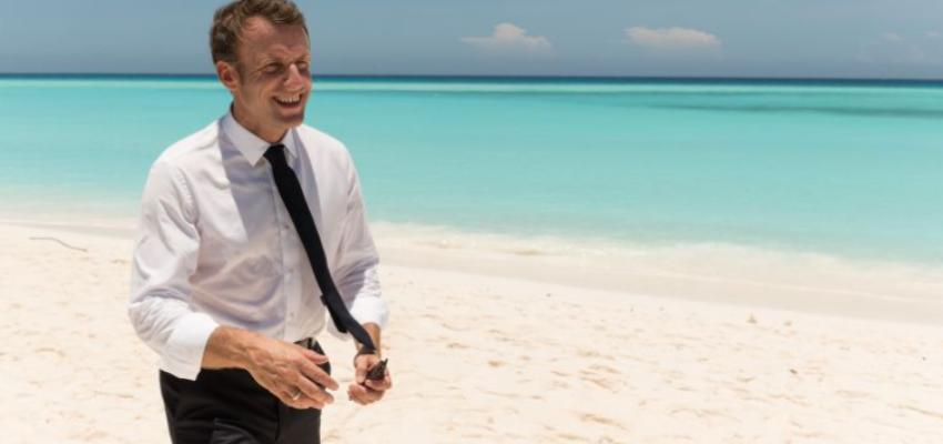 Emmanuel Macron en Polynésie @ Polynésie | Îles du Vent | Polynésie française