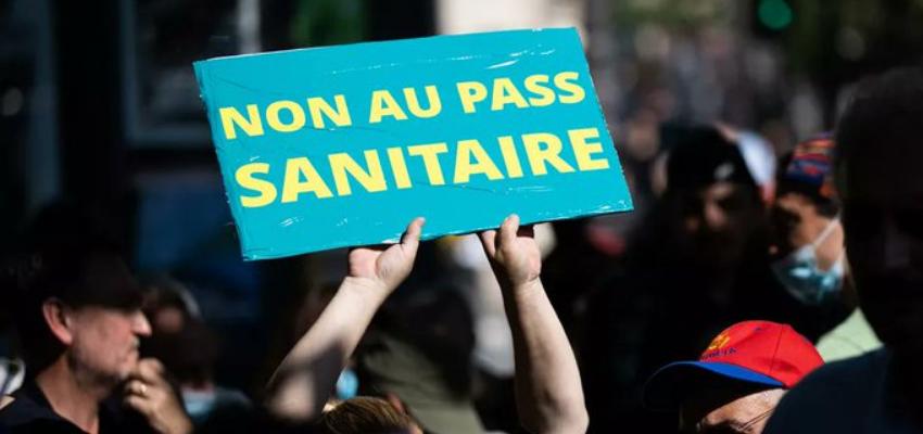 Manifestations contre le pass sanitaire ce samedi @ France | France
