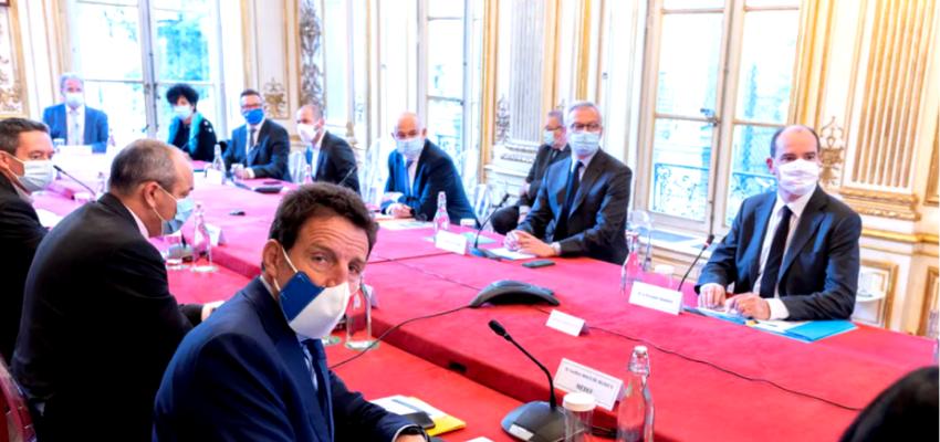 Les partenaires sociaux reçus à Matignon @ Hôtel de Matignon   Paris   Île-de-France   France