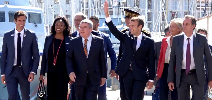 Emmanuel Macron en déplacement à Marseille @ Marseille   Marseille   Provence-Alpes-Côte d'Azur   France