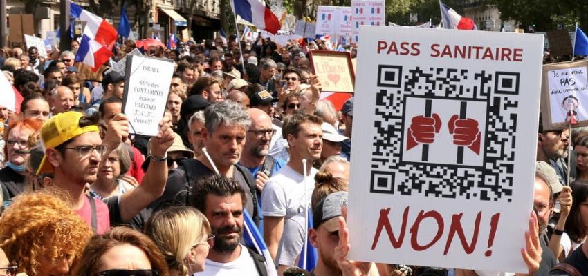 Huitième semaine de mobilisation contre le pass sanitaire @ France | France
