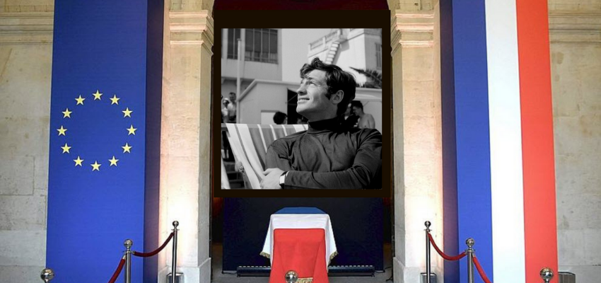 Hommage national à Jean Paul Belmondo, aux Invalides @ Hôtel des Invalides   Paris   Île-de-France   France