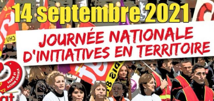 Obligation vaccinale : appel de la CGT à manifester @ France | France