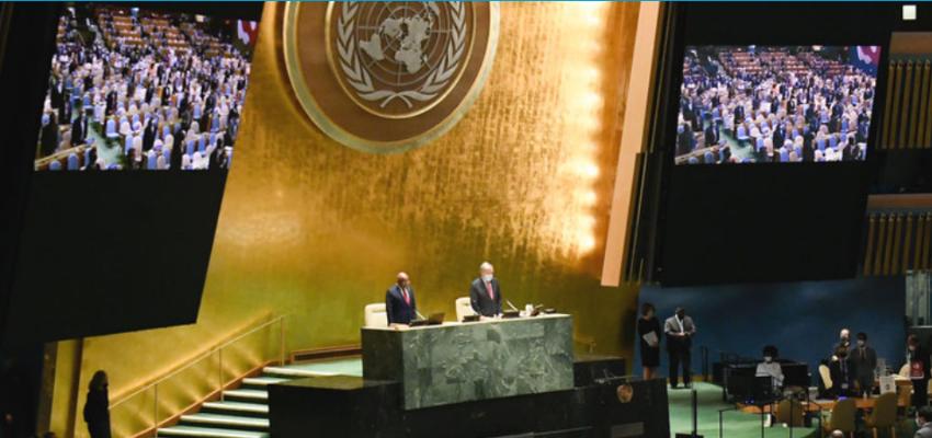 76e session de l'assemblée générale de l'ONU : débat général @ Nations Unies | New York | New York | États-Unis