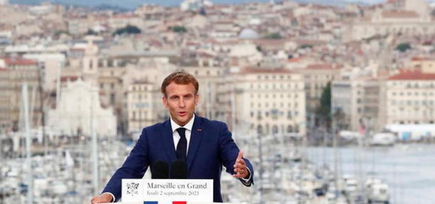 Emmanuel Macron de retour à Marseille @ Marseille   Marseille   Provence-Alpes-Côte d'Azur   France